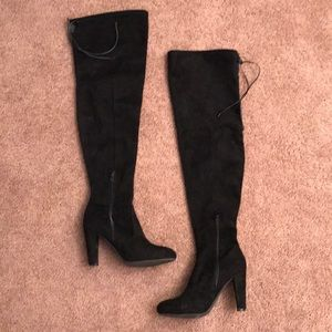Wild Diva Heeled Over the Knee Boots